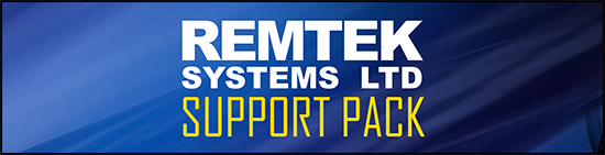 REMTEK SYSTEMS LTD SUPPORT PACK